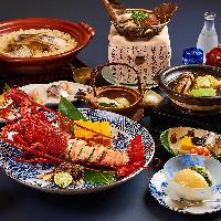 【豪華コース】 お客様のペースに合わせて料理をご提供します