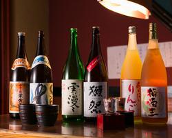 【お飲み物】 焼酎・日本酒・果実酒・・・♪