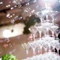 【充実のオプション】大人気シャンパンタワーや花束プレゼント!