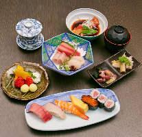■本格寿司とこだわりの6品■ 月コース5000円