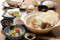 コース料理4000円~ 東北地方の美味しさを堪能。