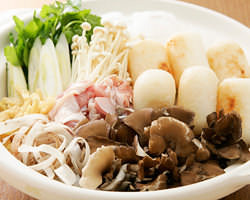 秋田比内地鶏入り「きりたんぽ鍋」(夏期は要予約)