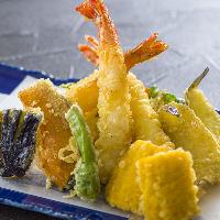 揚げ立て天ぷらはご注文頂いてから揚げます!