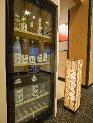 おすすめの日本酒を取り揃えております。