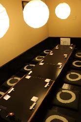 人気の個室はお早めに予約で!(6~10名様おすすめ)