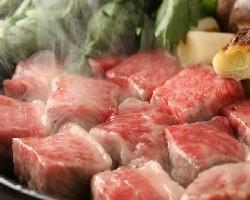 牡丹亭・名物~秘伝の味わい~ 極上黒毛和牛・味噌牛鍋