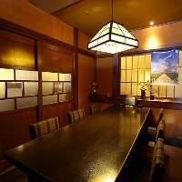 人気のテーブル個室。周りを気にせずおくつろぎ頂けます。