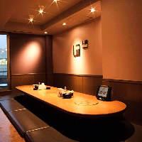 気の合う仲間達とワイワイ宴会♪完全個室のプライベート空間
