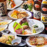 【宴会プラン】魚が主役の飲放付プラン\3700円~