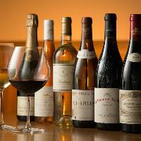 美味しいワインも揃ええております。