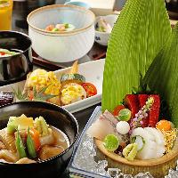 加賀料理の伝統を活かし四季の彩りを盛り込んだ季節の懐石コース