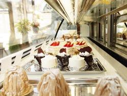 パティシエオリジナル★ケーキも心を込めてお造りいたします。