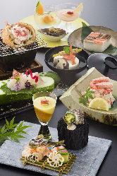 店内の生け簀からあげた活蟹を様々な調理法でご提供致します。