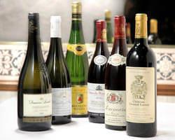 ブルゴーニュ地方など、名産地のワインを取り揃えております。