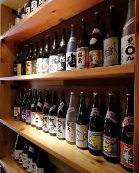 【焼酎・日本酒】 各種銘柄取り揃えています