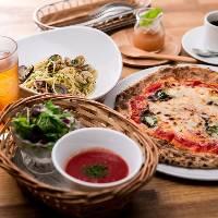 前菜とパスタorピッツァ、ドリンクも。コスパ最強ランチ。