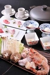 【寄せ鍋コース】 先付・お刺身・鍋・雑炊・デザート