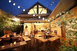 【5F】ガーデンテラス付き個室を貸切で