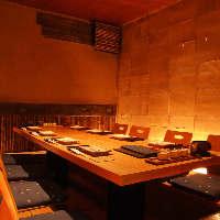 【個室】お忍びやご接待・会食にも便利です。
