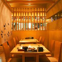 【個室・半個室】テーブル席・堀ごたつ席をご用意