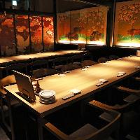 最大44名様の個室完備。会社の飲み会に最適