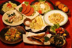沖縄料理を存分に味わえるメニュー。