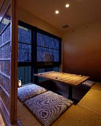 3~4名個室 赤坂の夜景が一望出来ます