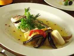 旬の鮮魚から作るお勧めメニュー お楽しみ頂けます