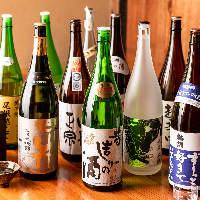[愛媛直送の地酒] 全国トップレベルの銘酒や地酒が20種類以上