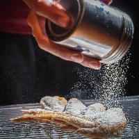 きび糖を使用した甘辛ダレと山椒の効いたスパイスが絶品の一品