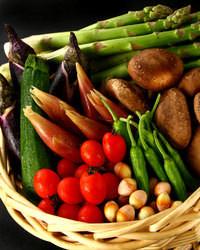 知ってましたか? 野菜を炭火で焼くと美味しいんです。
