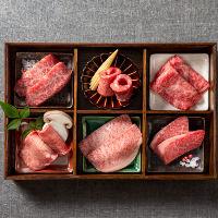 まさにお肉の宝石箱!!お得な盛合せを6,600円(税抜)より