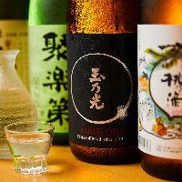 京都を中心とした全国各地のレア日本酒をラインナップ!