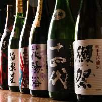 厳選日本酒が日替わりで楽しめます! 秘蔵酒あります★