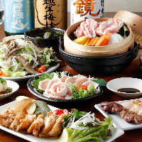 下田さん家の豚肉と旬野菜のせいろ蒸しがメイン「バルコース」