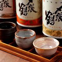 蔵元とコンタクトを交わし、オーナーが惚れ抜いた日本酒を厳選