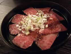 葉山牛カルビ焼き 米や麦を食べて育った甘みがあり美味しいお肉