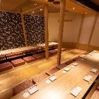 横浜の個室居酒屋なら当店へ!最大32名様までご利用可能です◎