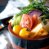 【神奈川 地場野菜盛】 大地の恵みを感じれます♪