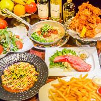 パーティープランは飲み放題付き2750円(税別)