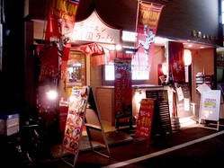タイ料理店として赤坂の隠れ家的存在。