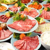 【名物】極上肉の食べ飲み放題!クーポン利用で3600円~!