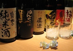 各種焼酎・日本酒・梅酒もご用意!
