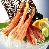 北海道海鮮三色丼 〜帆立、いくら、蟹の人気三点盛り〜