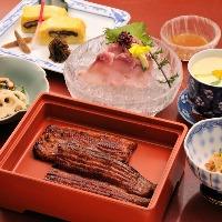 日本の伝統うなぎ料理と 旬の素材をいかした季節料理