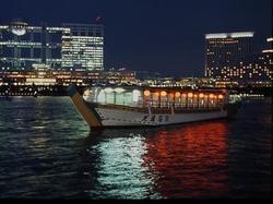 展望デッキ付 屋形船 芝浦 石川の画像