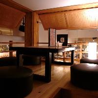 ロフト個室は隠れ家屋の様な雰囲気を味わえます♪