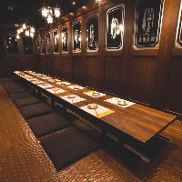 【個室】は8名~最大24名様迄。テーブル・堀座敷席ございます。