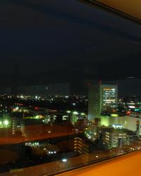 ★14Fの店内から見た夜景です★