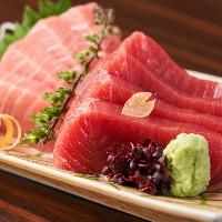 豊洲仕入れの厳選旬魚は刺身や焼き物で!獲れたての味わいをぜひ